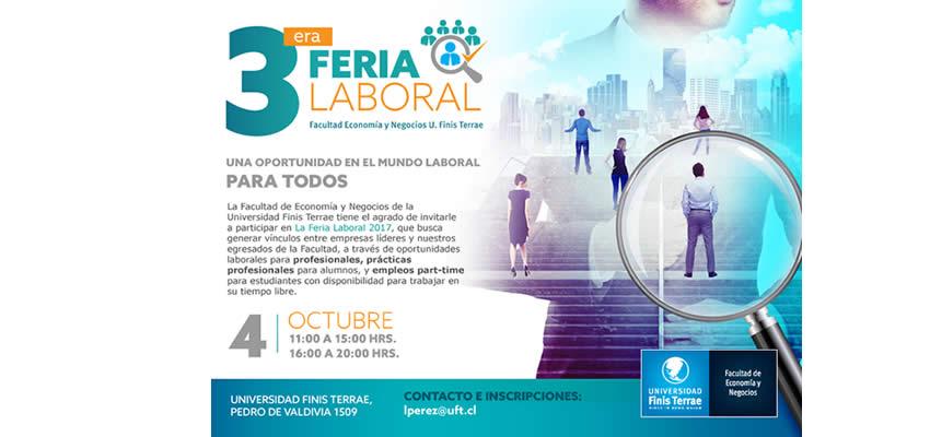 Facultad de Economía y Negocios realiza Tercera Feria Laboral y de Prácticas Profesionales