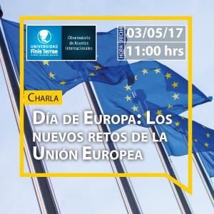 Charla Día de Europa: Los nuevos retos de la Unión Europea