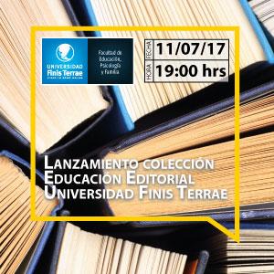 Lanzamiento colección Educación Editorial Universidad Finis Terrae
