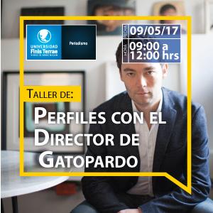 Taller de Perfiles con el director de Gatopardo