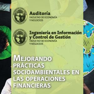 Mejorando prácticas socioambientales en las operaciones financieras.