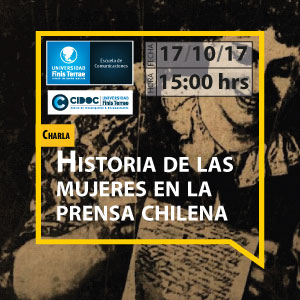 "Charla ""Prensa de Mujeres Chilenas 1850-1950"""