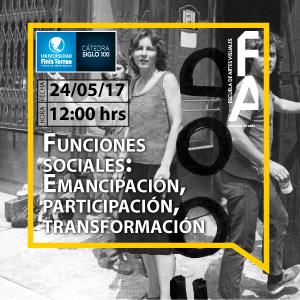 Funciones Sociales: Emancipación, Participación, Transformación