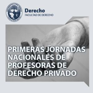 Jornada Nacional  de profesores de Derecho Privado