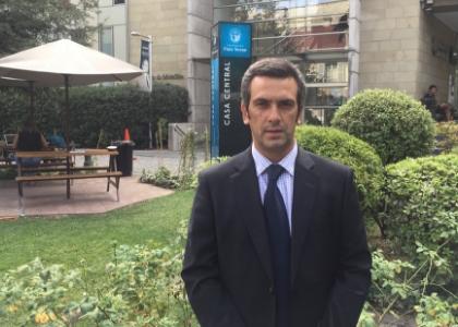 """Ignacio Hüe: """"Nuestros egresados analizan y proponen soluciones para los nudos críticos de la convivencia escolar"""""""