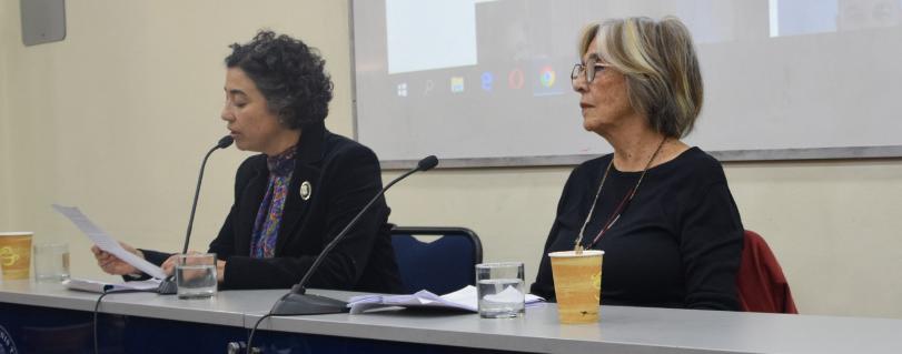 """Raquel Olea inauguró Año Académico de Literatura: """"Ser mejor es respetar al otro, a la naturaleza"""""""