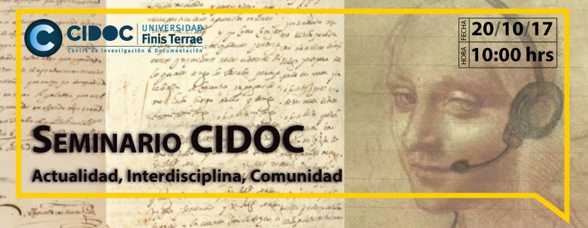 Seminario CIDOC Actualidad, Interdisciplina, Comunidad: