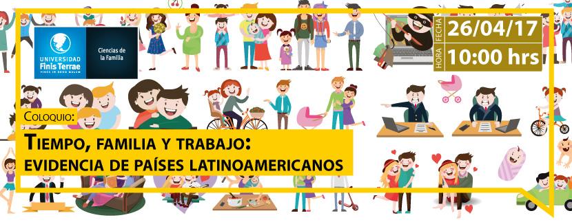 Coloquio Tiempo, Familia y Trabajo: Evidencias de países latinoamericanos