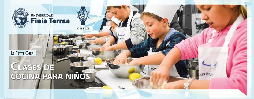 Le Petit Chef: Clases de cocina para niños.