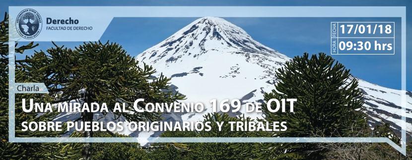 Charla: Una mirada al Convenio 169 de OIT sobre pueblos originarios y tribales