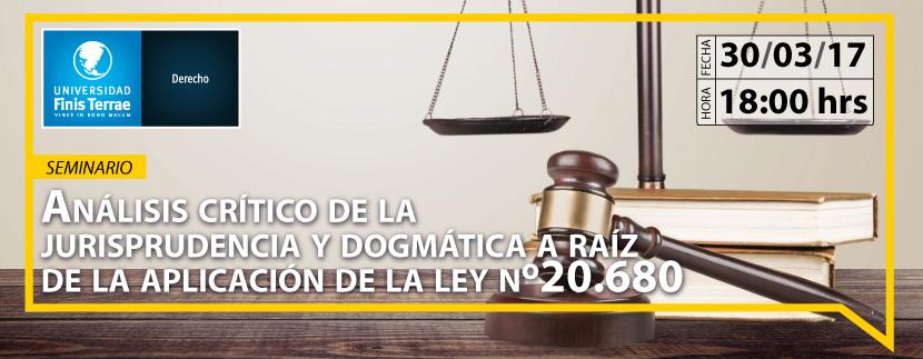 Análisis crítico de la jurisprudencia y dogmática a raíz de la aplicación de la ley Nº 20.680