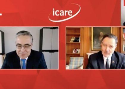 El Mercurio | Presidente de ICARE destacó foro virtual de la