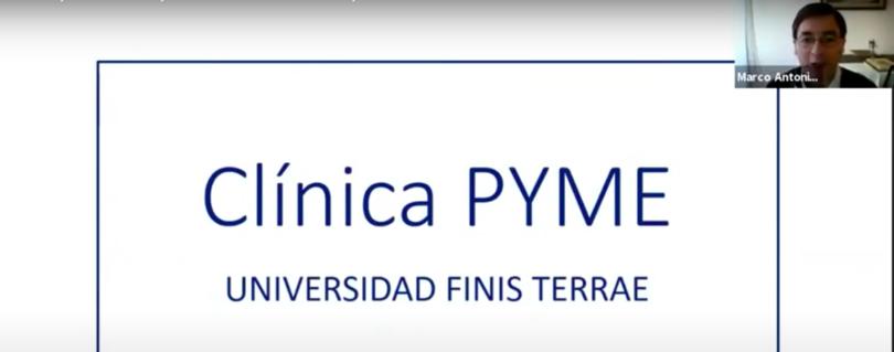 Con una completa revisión de las medidas estatales en apoyo de las pymes finalizó el ciclo de charlas organizado por la Clínica Pyme de la U. Finis Terrae