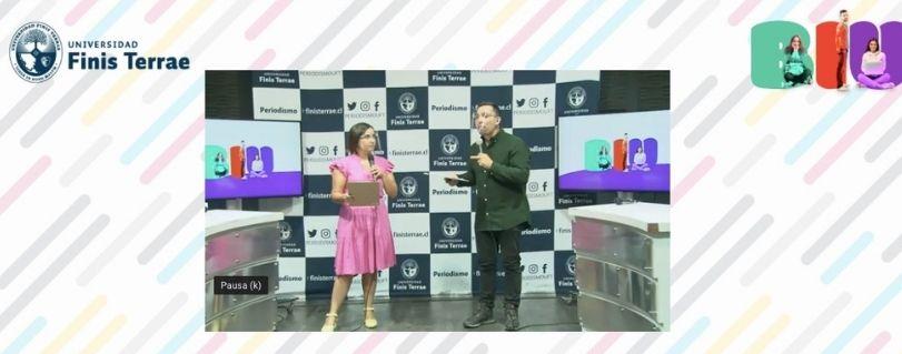 Con transmisión online en vivo, U. Finis Terrae dio la bienvenida a sus nuevos estudiantes