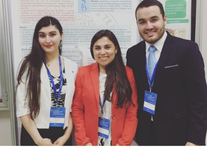 Estudiantes de la Facultad de Odontología participaron en el V Congreso Chileno de Salud Pública y VII Congreso Chileno de Epidemiología en la Región del Biobío