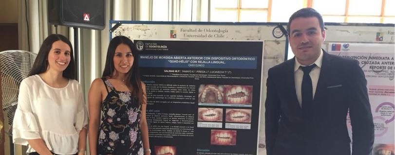 Estudiantes de la Facultad de Odontología participaron en el IV Congreso Nacional Científico-Gremial EDF