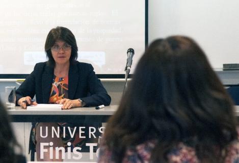 Facultad de Derecho de la Universidad Finis Terrea y Academia Judicial imparten seminario a miembros del Poder Judicial sobre Control de Convencionalidad
