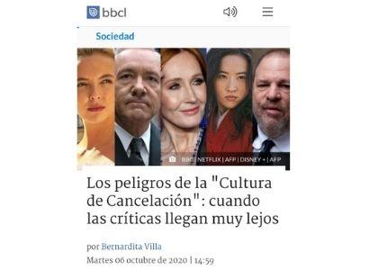 BioBioChile.cl | Académicos de Periodismo y Psicología analizaron el fenómeno de la cancelación en redes sociales y advirtieron sus riesgos