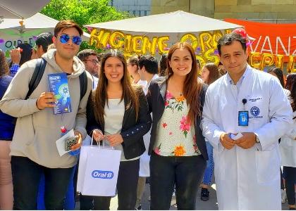 Facultad de Odontología realizó exitosa Feria Educativa