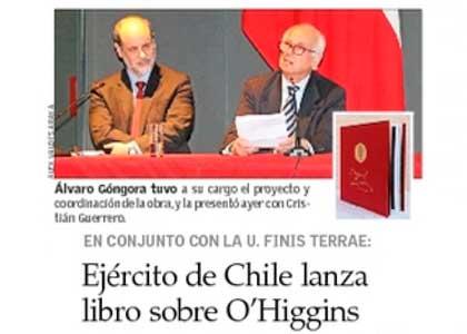 EL Mercurio | Presentación libro O'Higgins