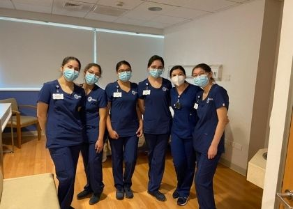 Estudiantes de Enfermería iniciaron su práctica clínica de Cuidados Médicos Quirúrgicos