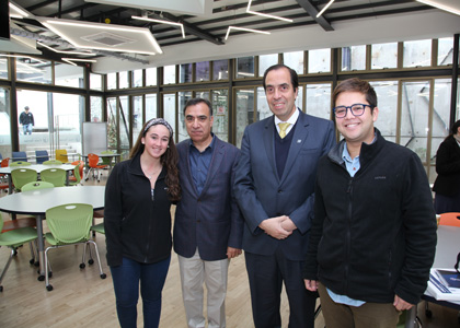 Universidad Finis Terrae inauguró nuevo Espacio Coworking para los estudiantes