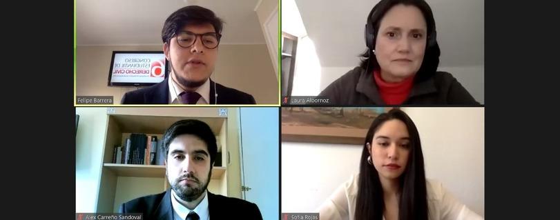 Exposición del estudiante de Derecho Alex Carreño estuvo entre las mejores ponencias del 6° Congreso Estudiantil de Derecho Civil de la U. de Chile