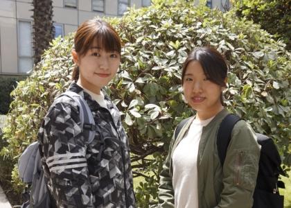 """Ayaka Sugimara: """"En la Facultad se comienza a ejercer la práctica a partir delsegundo año, una gran diferencia con Japón"""""""