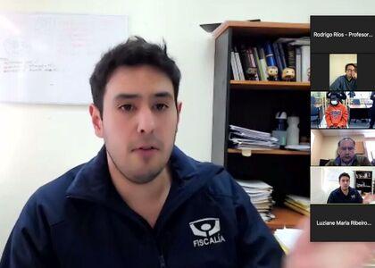 Alumnos de la Facultad de Derecho U. Finis Terrae y de la Facultad de Derecho Milton Campos (Brasil) asistieron a audiencias de control de detención en Juzgado de Garantía de Copiapó
