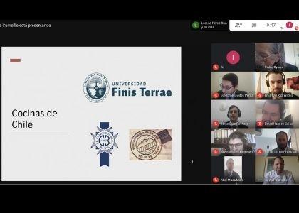 Chef Tomás Cumsille impartió cátedra sobre comida chilena a estudiantes de la Academia Diplomática