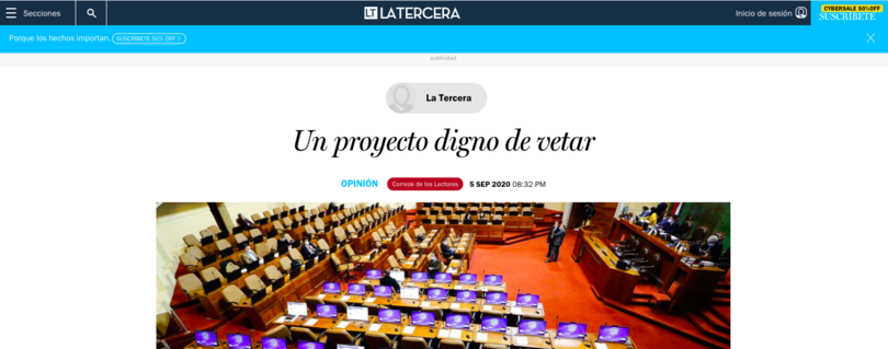 La Tercera | Académico Cristóbal Aguilera analiza polémico proyecto de ley de Garantías de Derechos de la Niñez