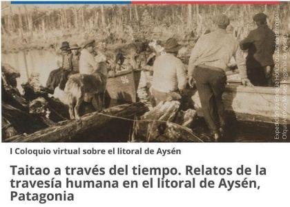 Francisco García Huidobro y Sergio Araneda expusieron en coloquio virtual del Museo Regional de Aysén