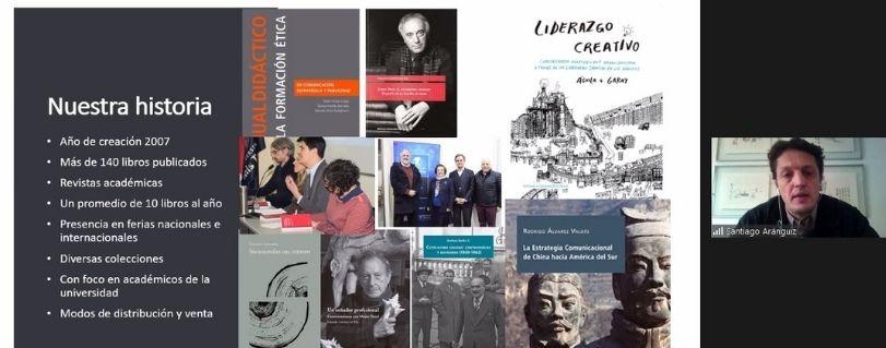 Ediciones Universidad Finis Terrae presentó nueva política editorial y rediseñó sus colecciones