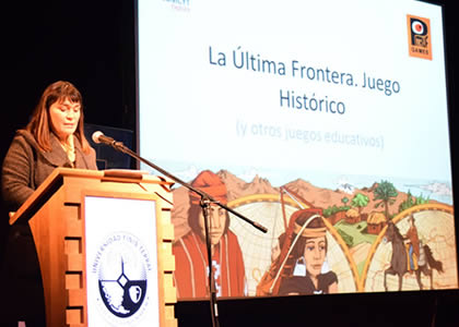 """""""La última frontera: juego histórico"""" realiza su lanzamiento en la Universidad Finis Terrae"""