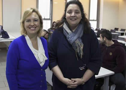 """Coloquio de la Profesora Andrea Lucas sobre """"Cambio climático en Chile"""""""
