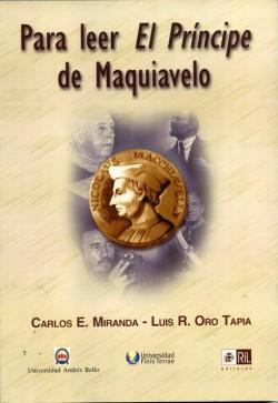 PARA LEER EL PRINCIPE DE MAQUIAVELO