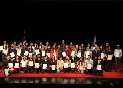 Universidad Finis Terrae premió a los estudiantes que destacaron por su excelencia académica