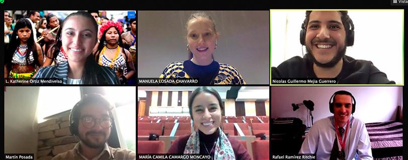 Profesora María Angélica Benavides participó en la XXI Jornada de Derecho Constitucional organizada por la U. Externado de Colombia