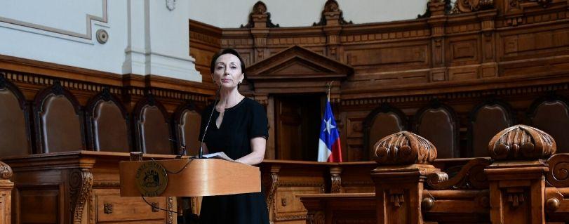 Con entrevista a ministra Chevesich, comenzó 4a temporada del programa de radio del Poder Judicial que realiza Periodismo Finis Terrae