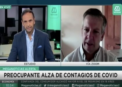 Canal Mega | Dr. Tomás Regueira analizó el alza de casos de covid-19 durante las últimas jornadas