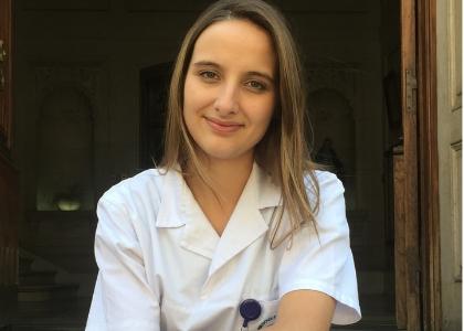 """Sara Benabon: """"Temía perder experiencia clínica y aquí nos dimos cuenta que era mejor de lo que esperábamos"""""""