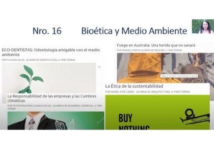 Instituto de Bioética y Revista Altus plantearon los desafíos que presenta la actual crisis ecológica global