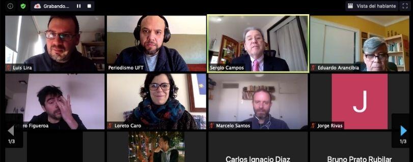 """Sergio Campos, Premio Nacional de Periodismo: """"El periodismo debe dar cuenta de los contrastes, qué dice la información oficial y las organizaciones"""""""