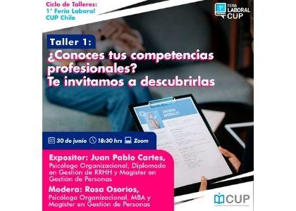 CUP inicia ciclo de talleres para potenciar la búsqueda de trabajo