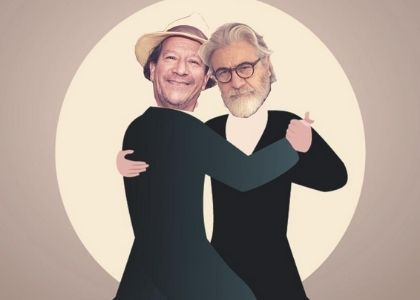 "Roberto Poblete y Alejandro Trejo estrenan la comedia virtual ""Tango Thriller"" en Teatro Finis Terrae"