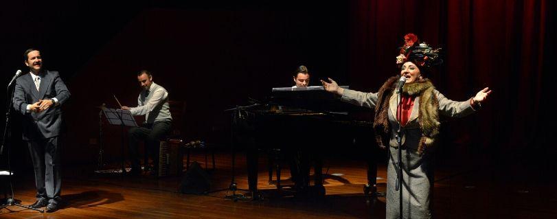 """La Desideria"" regresa esta vez al Teatro Finis Terrae como parte de Radiotanda - Gam"