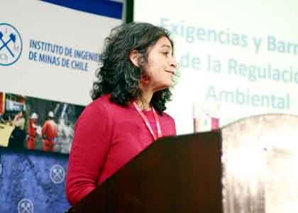 Académica expuso sobre mejores Normas ambientales en seminario de Fundiciones de Cobre