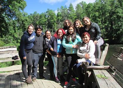 Alumnos de Historia viajaron a Curarrehue