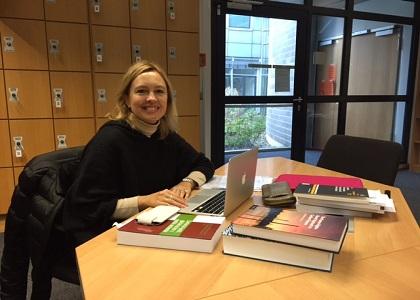 Investigadora de la Facultad de Derecho visita el Max Planck Institute de Heidelberg