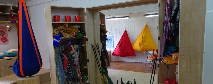 Fundación Ciudad del Niño y Facultad de Artes inauguraron nueva Sala Eco-sensorial en Puerto Montt